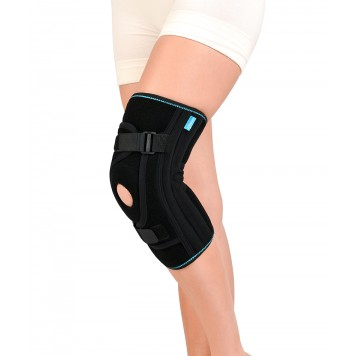 Бандаж Алком 4038 для фиксации коленной чашечки неопреновый Active-0