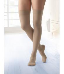 Компрессионные чулки Belsana Premium classic 2 класс open toe