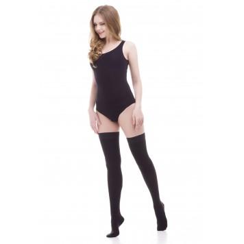 Компрессионные чулки Ifeel (закрытый носок) black-0